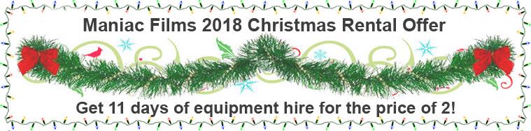 Maniac Christmas 2018 Offer