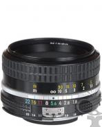 Nikon 050mm f/1.8 manual focus prime lens  - will fit Canon EF