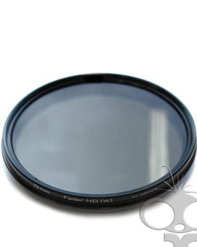 Variable Neutral Density (ND) filter - 62mm screw type