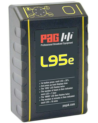 PAG L95e 95W V-lock Battery Power Circle