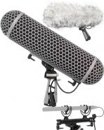 Rode Blimp 2 windshield system with rycote mounts