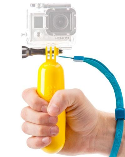 The Bobber floating GoPro Hero handgrip