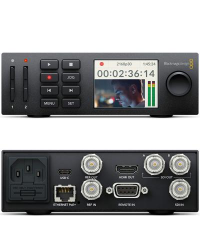 Blackmagic Hyperdeck Studio Mini Hd 4k 6g Sdi Recorder Player Hire Maniac Films