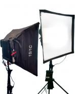 Aputure LS1c bi-colour Dual panel Diffused LED Lighting kit