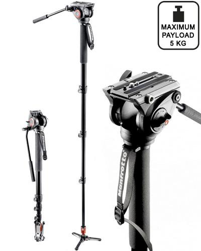 Manfrotto MVM500A Monopod with fluid head