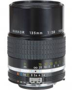 Nikon 135mm f/2.8 manual focus prime lens  - will fit Canon EF