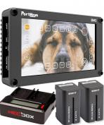 Portkeys BM5 5inch HDMI-SDI Monitor + battery kit