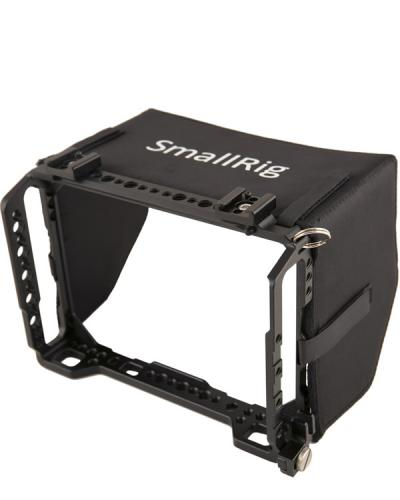 SmallRig Blackmagic Video Assist cage and sunhood
