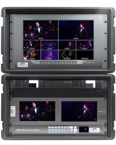 4K & HD Live Event Vision Mixer Video Switch kit V2