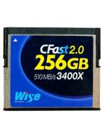 Wise Advanced 256GB 3400x CFast 2.0 card